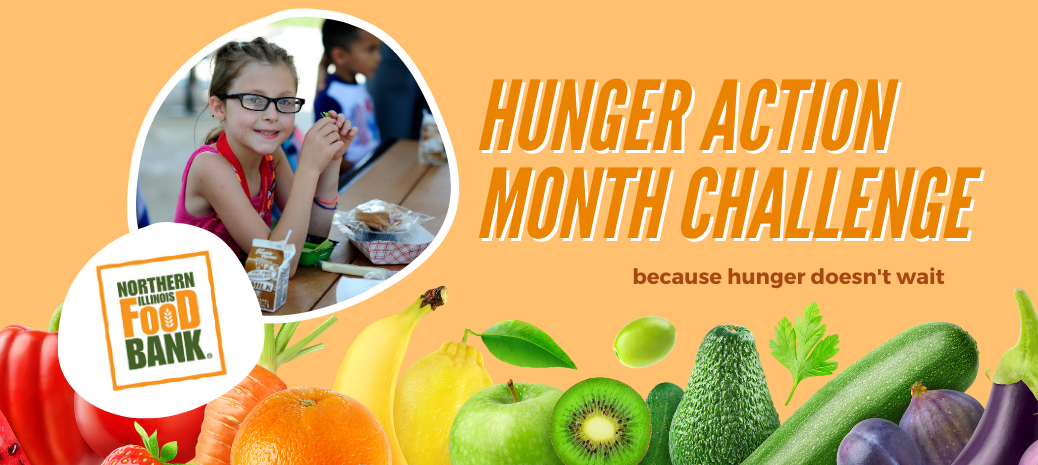 Hunger Action Month Challenge
